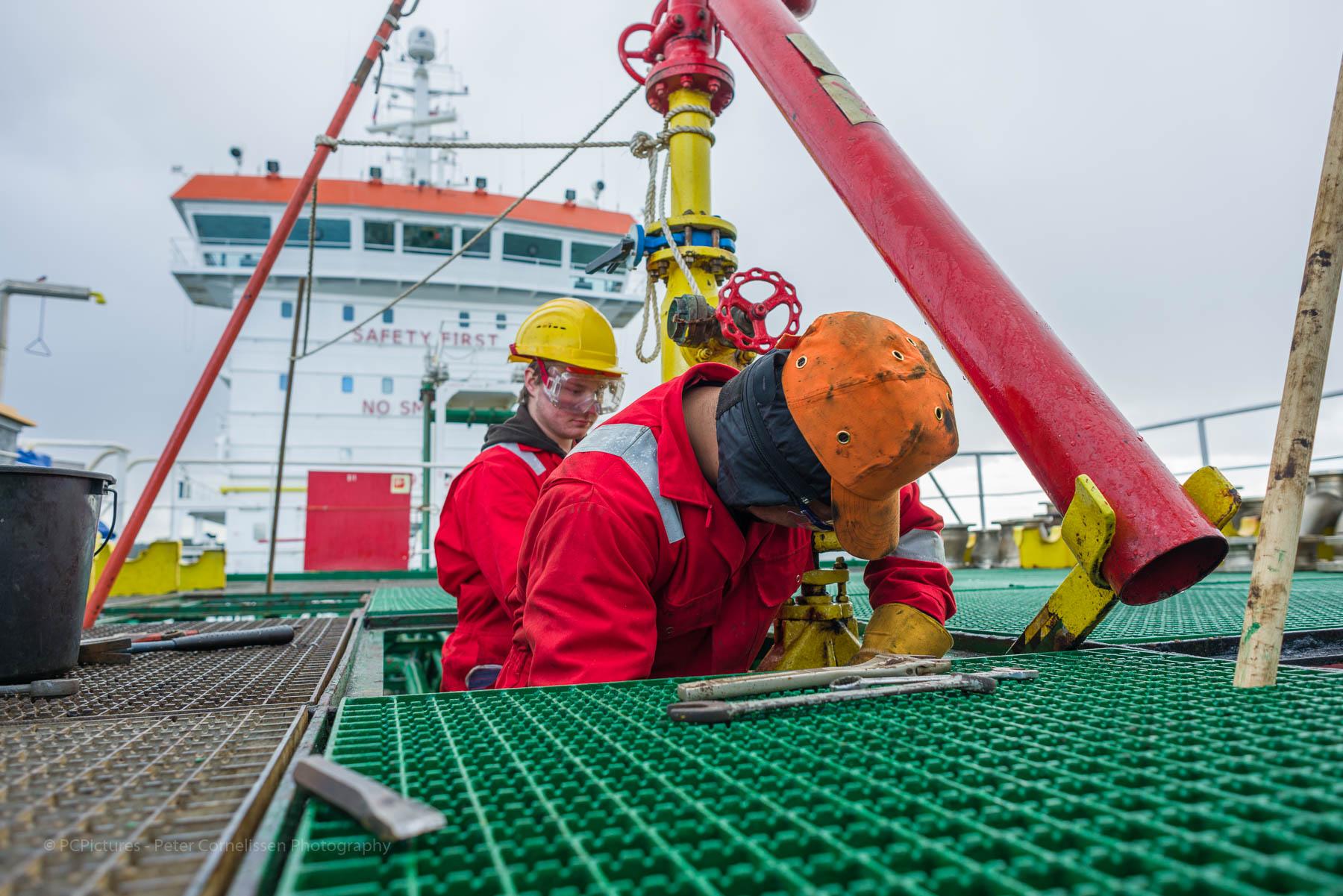 Bemanning, Crew, Harold Penalba, Jeffrey Hut, Mensen, People, Shipping, scheepvaart, zeevaart