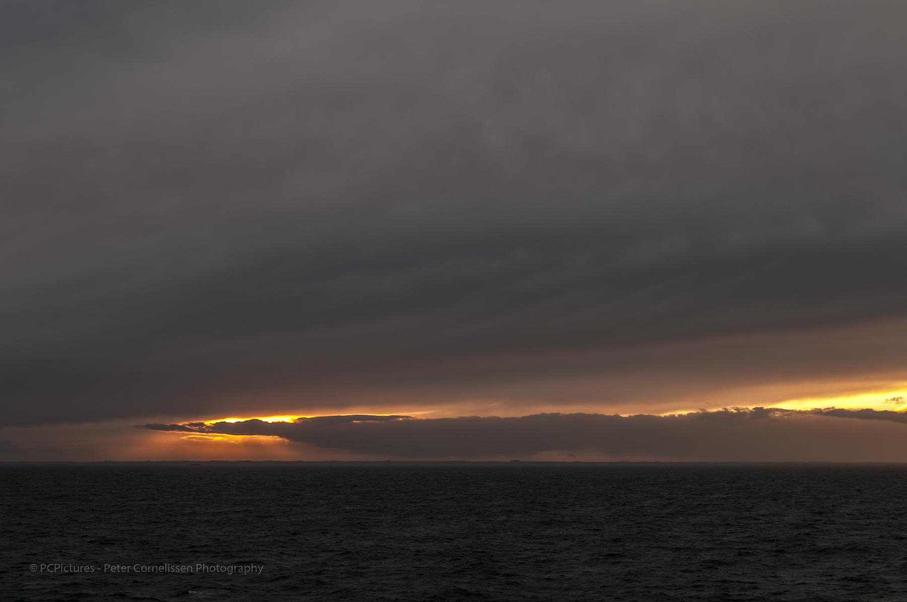 Clouds, Noordzee, North sea, Places, Seas, Zeeën, wolken, wp zeegezichten, zeegezicht, zonsondergang