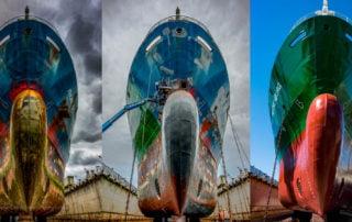 Falkenberg, Falkvarf, Shipping, Shipyard, Sweden, Thun Gothenburg, ships